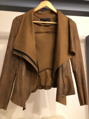 Zara Wraparound Jacket brown