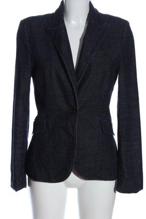 Zara Woman Blazer in jeans blu stile casual