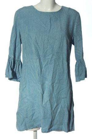 Zara Woman Denim Dress blue casual look