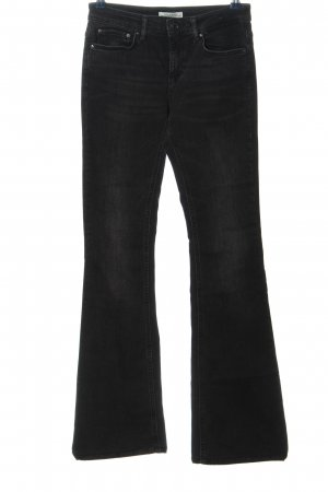 Zara Woman Denim Flares black casual look