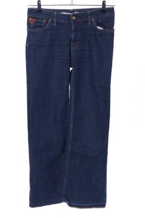 Zara Woman Spijker flares blauw casual uitstraling