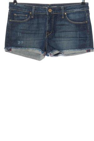 Zara Woman Jeansshorts blau Casual-Look