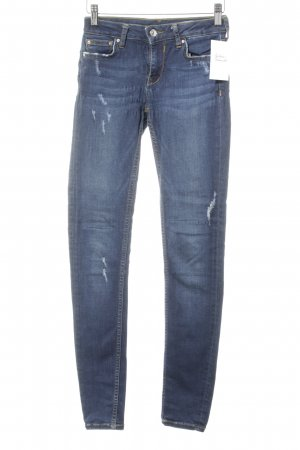 Zara Woman Jeggings dunkelblau