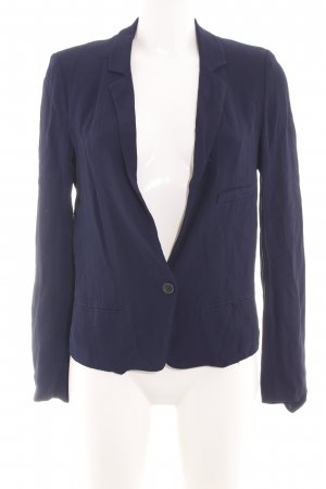 Zara Woman Jerseyblazer blau Business-Look