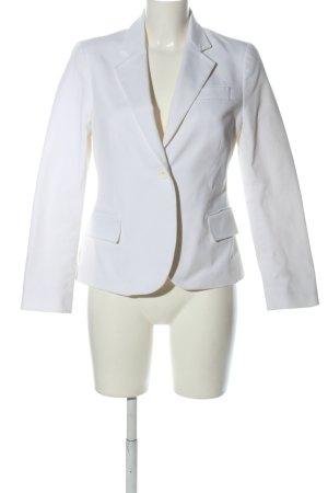 Zara Woman Jerseyblazer weiß Business-Look