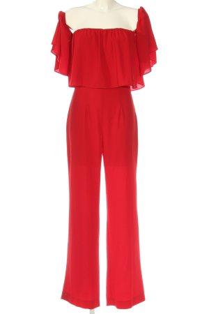 Zara Woman Jumpsuit rot Casual-Look