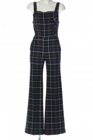 Zara Woman Jumpsuit Karomuster Casual-Look
