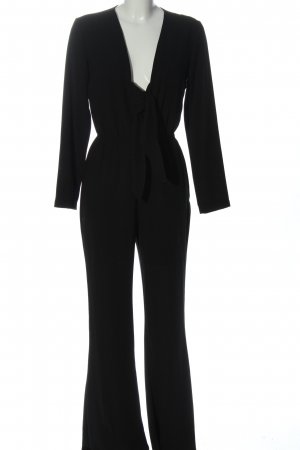 Zara Woman Jumpsuit schwarz Casual-Look