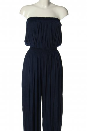 Zara Woman Jumpsuit blau Casual-Look