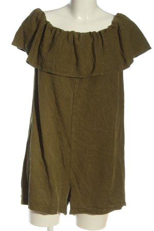 Zara Woman Jumpsuit khaki Casual-Look