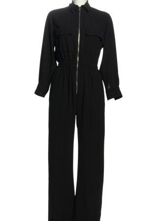 Zara Woman Jumpsuit schwarz Casual-Look