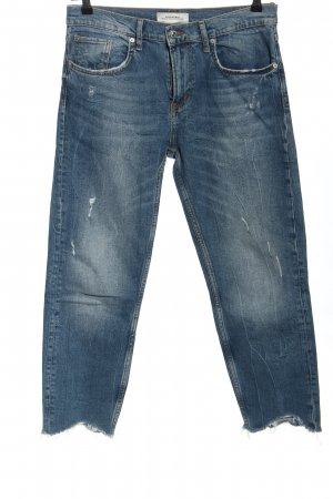 Zara Woman Carrot Jeans blue casual look