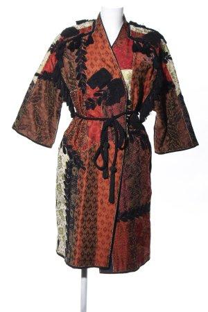 Zara Woman Kimono flower pattern classic style