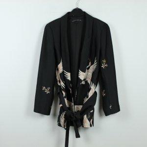 Zara Woman Kimono multicolored polyester