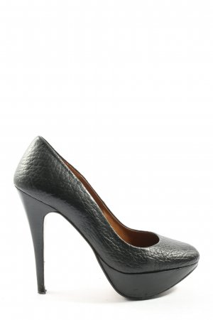 Zara Woman Klassische Pumps schwarz Casual-Look