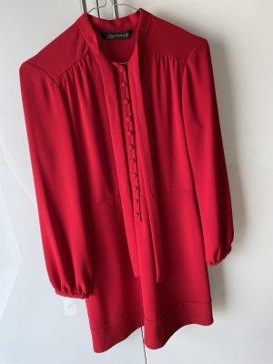 ZARA Woman Kleid Rot Gr.S Neuwertig