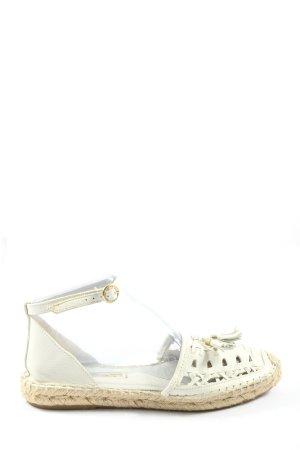 Zara Woman Sandales confort blanc style décontracté