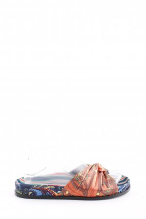 Zara Woman Komfort-Sandalen Mustermix Casual-Look