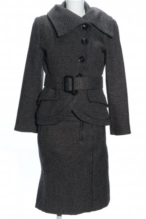 Zara Woman Ladies' Suit black flecked business style