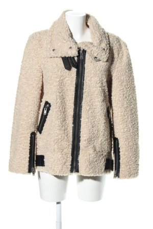 Zara Woman jacke wollweiß Casual-Look