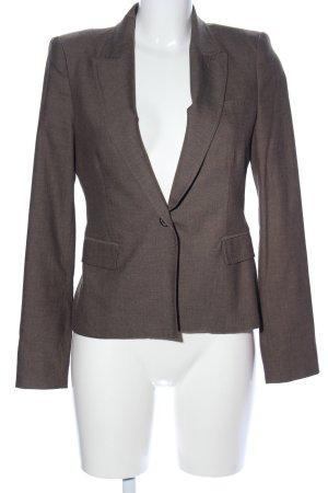 Zara Woman Kurz-Blazer braun Business-Look