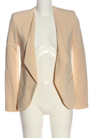 Zara Woman Kurz-Blazer nude Business-Look