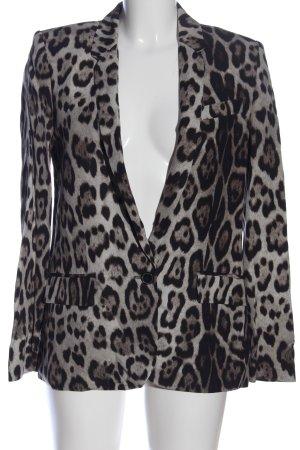 Zara Woman Kurz-Blazer Allover-Druck extravaganter Stil