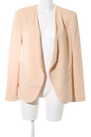 Zara Woman Kurz-Blazer creme Casual-Look