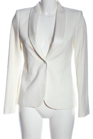 Zara Woman Kurz-Blazer weiß Elegant
