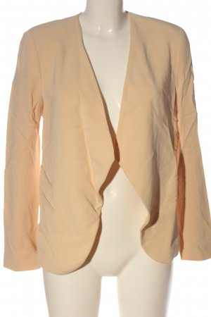 Zara Woman Kurz-Blazer creme Casual-Look