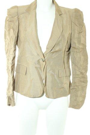 Zara Woman Kurz-Blazer camel Business-Look