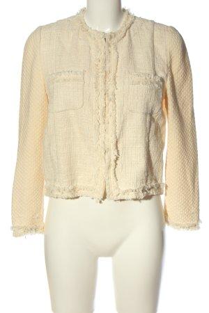 Zara Woman Kurz-Blazer creme Webmuster Business-Look