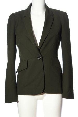 Zara Woman Kurz-Blazer khaki Business-Look