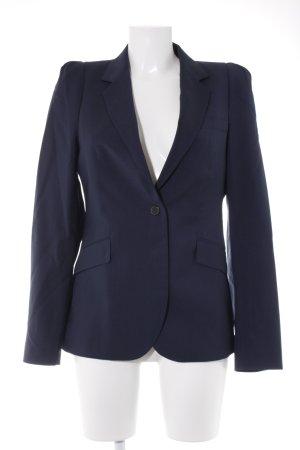 Zara Woman Kurz-Blazer dunkelblau Business-Look