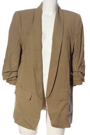 Zara Woman Kurz-Blazer khaki Casual-Look