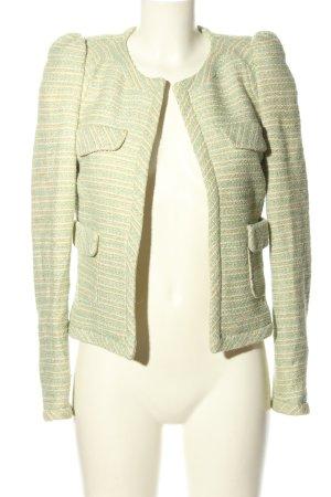 Zara Woman Kurz-Blazer Mustermix Casual-Look