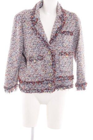 Zara Woman Kurz-Blazer mehrfarbig Business-Look