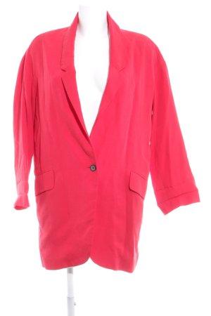 Zara Woman Kurz-Blazer rot schlichter Stil