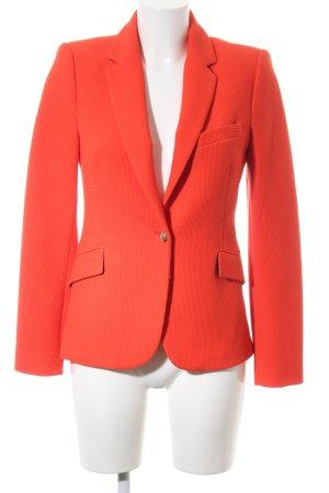 Zara Woman Kurz-Blazer rot Webmuster Business-Look