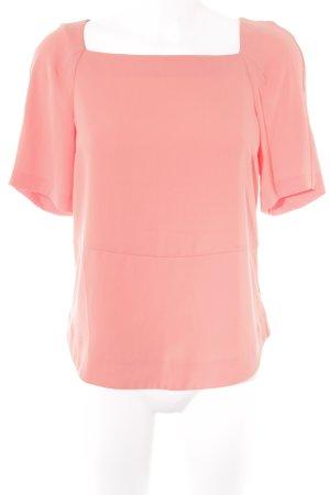 Zara Woman Kurzarm-Bluse orange Casual-Look
