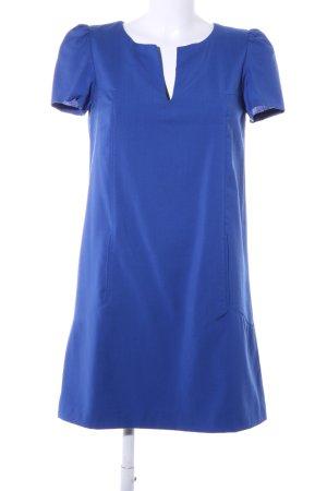 Zara Woman Kurzarmkleid blau Casual-Look