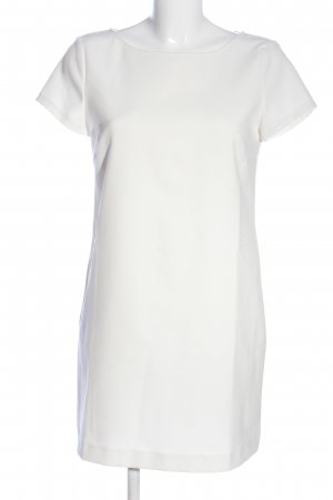 Zara Woman Kurzarmkleid weiß Casual-Look