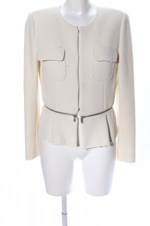 Zara Woman Kurzjacke creme Business-Look
