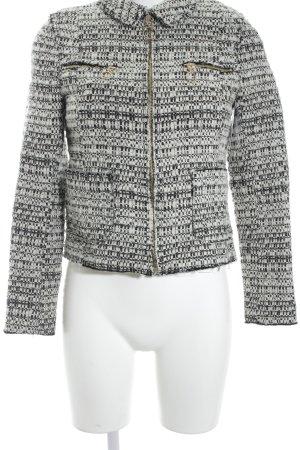 Zara Woman Kurzjacke schwarz-weiß Street-Fashion-Look
