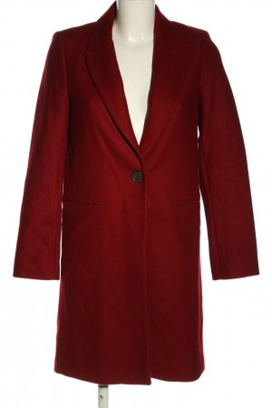 Zara Woman Kurzmantel rot Business-Look