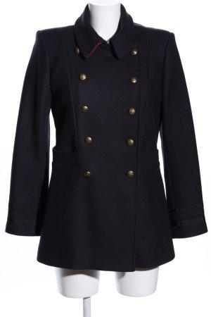 Zara Woman Cappotto corto nero stile professionale