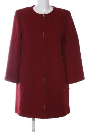 Zara Woman Kurzmantel rot Casual-Look