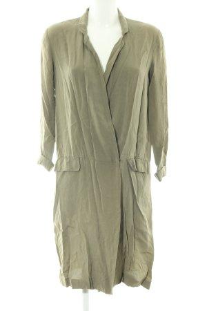Zara Woman Kurzmantel khaki Casual-Look