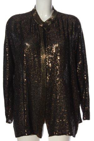 Zara Woman Langarm-Bluse bronzefarben Elegant