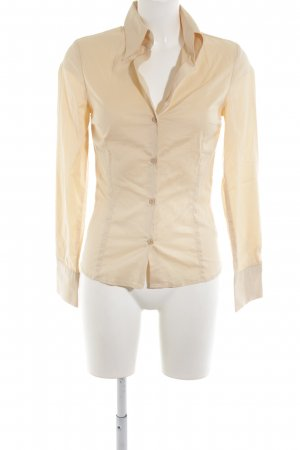 Zara Woman Langarmhemd creme Business-Look